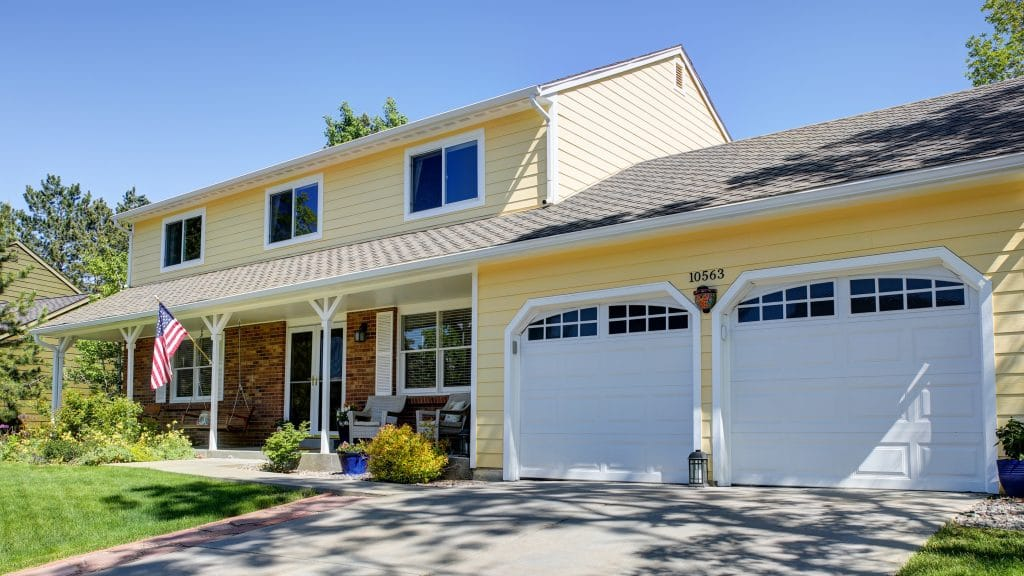 a beautiful home with siding installed by Colorado Siding Repair