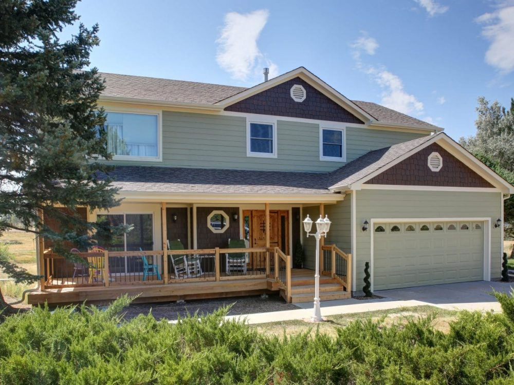 house with siding that was installed or repaired by Colorado Siding Repair