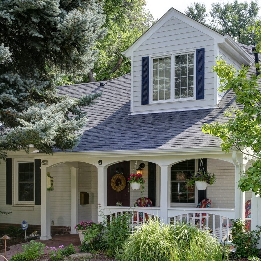 house that has siding installed by Colorado Siding Repair